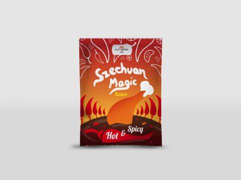 Szechuan Sauce Verpackung
